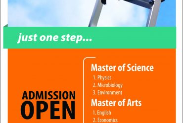 Admission Open !!!